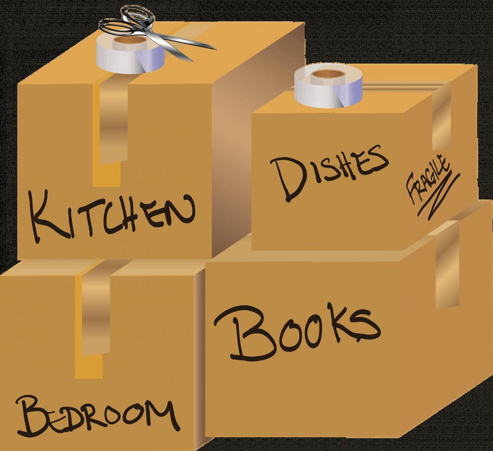 קופסאות למעבר דירה